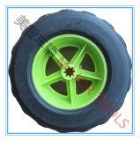 PET 7.5X2.5 materielles Plastikdurchbrennenrad für Lastwagen-Laufkatze