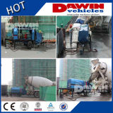 equipamento de entrega concreto móvel (diesel) elétrico da bomba 50m3/Hour concreta