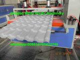 Cadena de producción acanalada compuesta de la azotea de la hoja del PVC