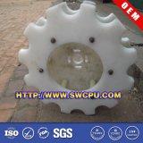 CNC Machining Mini Plastic Nylon /Derlin Spur Gear für Auto