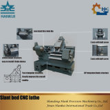 Ck40L 중국 제조자 CNC 기우는 침대 선반