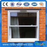 Faixa deslizante vertical de alumínio Windows do revestimento branco do pó