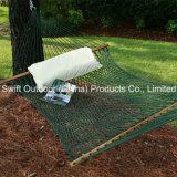 Hammock ao ar livre com lona do algodão do poliéster