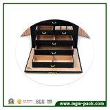Contenitore di monili di legno multifunzionale di alta qualità promozionale 2017