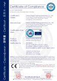 O Ce Certificated o envoltório do fluxo da máquina de envolvimento do fluxo do saco do reforço do movimento da caixa