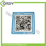 Etiqueta autoadhesiva de la etiqueta de MIFARE DESFire RFID NFC