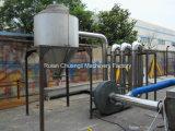 Auto de plástico PP / PE Película de trituración, lavado y secado de la máquina