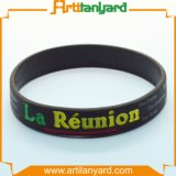 Wristband por atacado do silicone com logotipo
