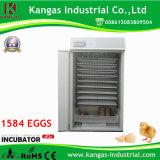 Incubation bon marché automatique d'oeuf de caille des prix bon marché d'oeufs de caille (KP-14)