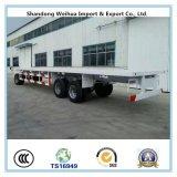 3 Volledige Aanhangwagen van de Container van de Aanhangwagen van de Tractor van assen Flatbed van Leverancier