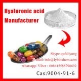Enchufes de fábrica Ácido hialurónico Hialuronato de sodio 5000-300W Peso molecular