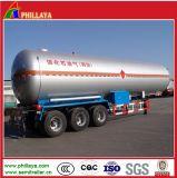 De semi Tanker van het Gas van LPG van de Aanhangwagen voor het Vervoer van het Propaan