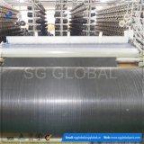 Tissu noir de géotextile tissé par pp pour le revêtement de construction
