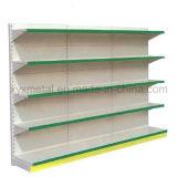 Rek van de Supermarkt van de Gondel van de Apparatuur van de Plank van de Vertoning van het Metaal van Pegboard het Opschortende