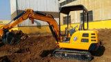 Mini excavatrice multifonctionnelle 1.8ton (SE18) pour cultiver, construction civique, faisant du jardinage