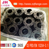 A flange e o material do aço de carbono DIN2502 Pn16 são Rst37.2