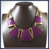 De nieuwe Juwelen van de Manier van de Halsband van de Tegenhanger van de Hars van het Punt Vierkante