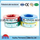 Câblage électrique à un noyau isolé par PVC gauche coloré de Ningbo