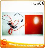 Verwarmer van de Auto van het silicone 400*400*1.5mm 12V 120W met Lichtere Stop Cigertte