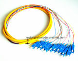 LC-St multimoda 3.0mm Duplex Optic Fiber Patch Cord