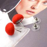 優雅なデザイン女性のための美しいキャンデーカラーきのこの形のスタッドのイヤリング