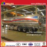 반 알루미늄 합금 연료 탱크 트레일러 (ADR를 가진 42m3)
