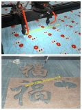 熱い販売のカメラCCDの織物革ファブリックレーザーの打抜き機1390年