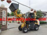 Neue Entwurf Hzm 800kg mini kleine Rad-Ladevorrichtungs-Bauernhof-Traktor-Ladevorrichtung Hzm 908t/Jn908