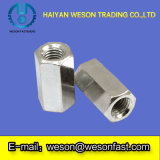 Steel inoxidable Long Hex Coupling Nut Made en Chine