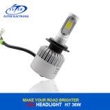 Faro automatico della PANNOCCHIA LED del faro LED 36W 4000lm S2 H7 H4 H13 H1 H3 H11 dell'automobile del LED