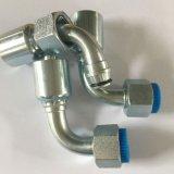 Estremità idraulica del tubo flessibile di colore della Cina di qualità bianca del fornitore
