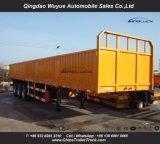 12.5m de Semi Aanhangwagen van de Lading van de Zijgevel met As 3 en ZijOmheining voor Afrika