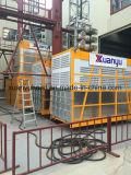 Fabricante de China da alta qualidade grua do edifício da cremalheira e do pinhão de 1 tonelada