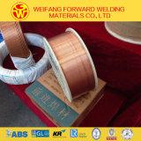 СО2 провода заварки Aws Er70s-6 сваривая продукт с катышкой пластмассы размера 1.2mm 15/20kg/D270