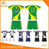 Uniforme Sublimated do rugby de Healong tipo barato