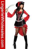 Сексуальный Costume Cosplay причудливый платья партии Halloween пирата женщин