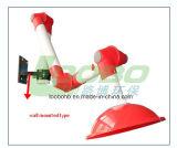 Bras flexible d'extraction de vapeur pour le laboratoire avec les joints multiples, série Livre-Jd