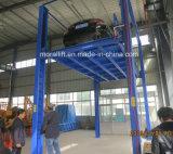 Hohes Anstieg CER genehmigte Auto-Plattform-Aufzug des Pfosten-vier für Verkauf