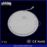 12W Future Branded Round LED Panel Light mit CER Approval