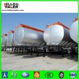 3 acoplados del carro del tanque de petróleo del árbol/carro de acoplado diesel del tanque