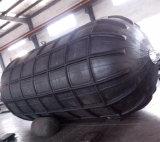 يستعمل لأنّ زورق قطر [يوكوهما] مطّاطة هوائيّة سفينة حاجز