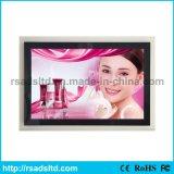 Migliore qualità che fa pubblicità al contenitore chiaro magnetico ultra sottile di acrilico LED