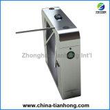 Torniquete automático cheio superior controlado do tripé do cartão de RFID