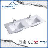 Тазик санитарного мытья руки раковины ванной комнаты изделий керамический