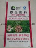 Saco tecido plástico do fertilizante