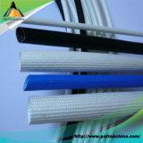 Vidro de fibra revestido do silicone que Sleeving para a luva da isolação do fio elétrico