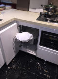 Bck MDFの白い光沢のPainttingの現代食器棚N15-5