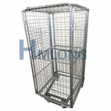 企業は販売のための鋼鉄網ロールケージに電流を通した