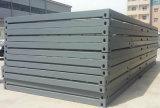 Подготавливайте сделанную дом контейнера стальной структуры