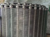 Metallperforierter Riemen-Edelstahl-Metallineinander greifen-Riemen